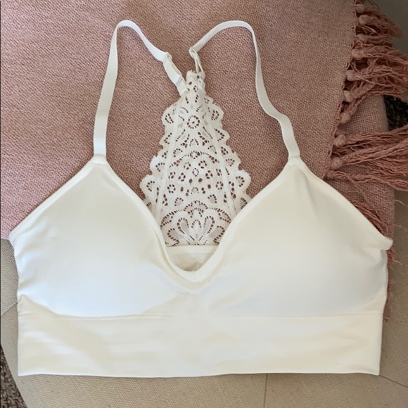 Auden Other - Auden white lace bralette size small
